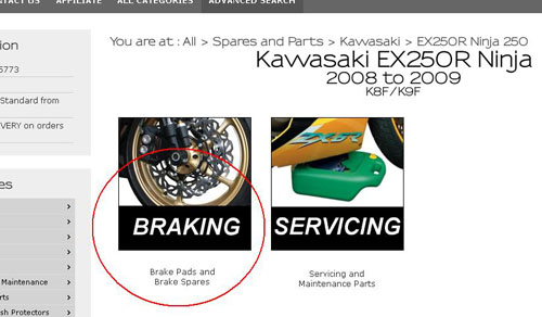 Kawasaki Motorcycle Accessories