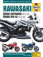 Haynes Manual - Kawasaki GPZ500 and ER-5