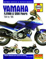 Haynes Manual - Yamaha FJ1100 and FJ1200