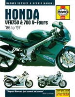 Honda VFR750F (1986 to 1997) Haynes Manual