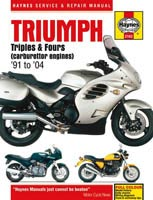 Triumph Triples and Fours (Carb) Haynes Manual