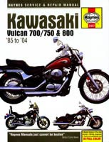 Kawasaki VN700, VN750 and VN800 Haynes Manual