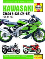 Kawasaki ZX-6R & ZX-636 (95 to 02) Haynes Manual