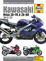 Kawasaki ZX-7R and ZX-9R Haynes Manual