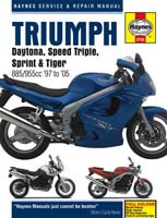 Triumph Triples (Fuel Injected) Haynes Manual