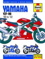Yamaha YZF-R6 (1998 to 2002) Haynes Manual