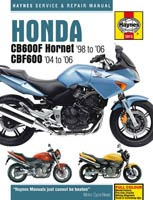 Haynes Manual - Honda CB600 and CBF600