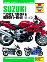 Suzuki TL1000R/S and DL1000 V-Strom Haynes Manual