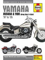 Haynes Manual - Yamaha XVS1100 Dragstar