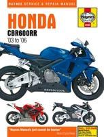 Honda CBR600RR (2003 to 2006) Haynes Manual