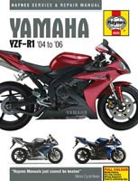 Yamaha YZF-R1 (2004 to 2006) Haynes Manual