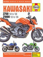 Kawasaki Z750 and Z1000 Haynes Manual