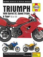Triumph Sprint, Triple & Tiger 1050 Haynes Manual