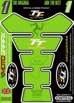 Official Isle of Man TT Races Motografix Green (Spine) Tank Pad (IOMTT01G)