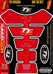 Official Isle of Man TT Races Motografix Red (Spine) Tank Pad (IOMTT01R)