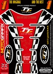 Official Isle of Man TT Races Motografix Red (Spine) Tank Pad (IOMTT06R)