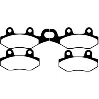 EBC FA228 Front Left Hand Brake Pads / EBC FA197 Front Right Hand Brake Pads