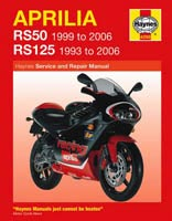 Aprilia RS50 and RS125 Haynes Manual