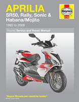 Aprilia Scooters Haynes Manual