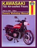 Haynes Manual - Kawasaki 750 Fours