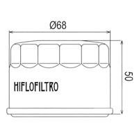 Hiflo Oil Filter - HF147 / HF985 Approximate Dimensions