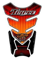 Triumph Triple (Orange) Motografix Tank Pad