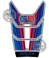 BMW R1200GS (Blue/Red/White) Motografix Tank Pad
