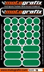 Motografix Strips and Dots - Dark Green