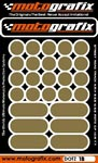 Motografix Strips and Dots - Gold