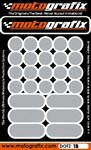 Motografix Strips and Dots - Silver