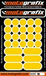 Motografix Strips and Dots - Yellow
