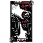 BMW S1000RR Motografix (White and Black) Front Number Board