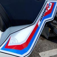 BMW S1000RR Motografix Rear Number Board
