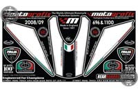 Ducati 696 / 1100 Motografix Rear Number Board