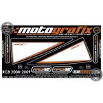 Motografix Rear Number Board - KTM RC8