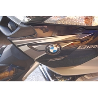 BMW R1200RT (2010 to 2012) Motografix Side Fairing Number Boards 3D Gel Protection System (BSS007U)