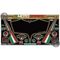 Ducati 996 (Black) Motografix Front Number Board (ND001K)