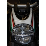 Ducati Diavel 1200 Motografix Front Fairing Number Board 3D Gel Protection System (ND013U)
