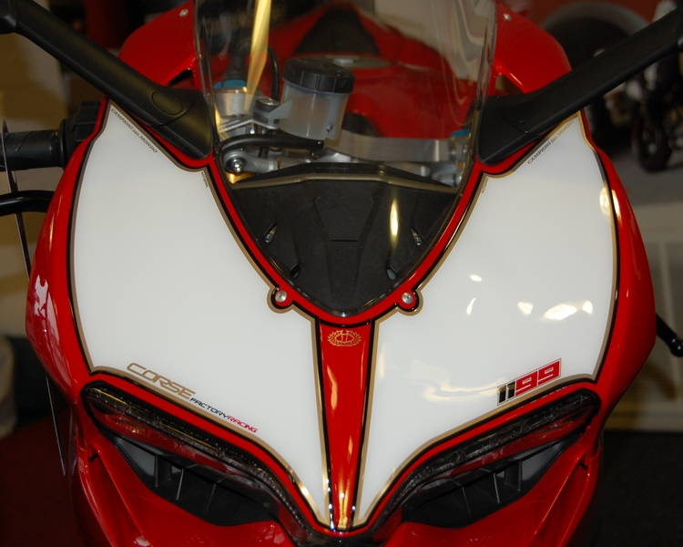 Ducati 1199 Panigale Motografix Front Number Board ...