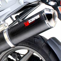 BMW R1200GS (10-12) Scorpion Factory Oval Exhaust