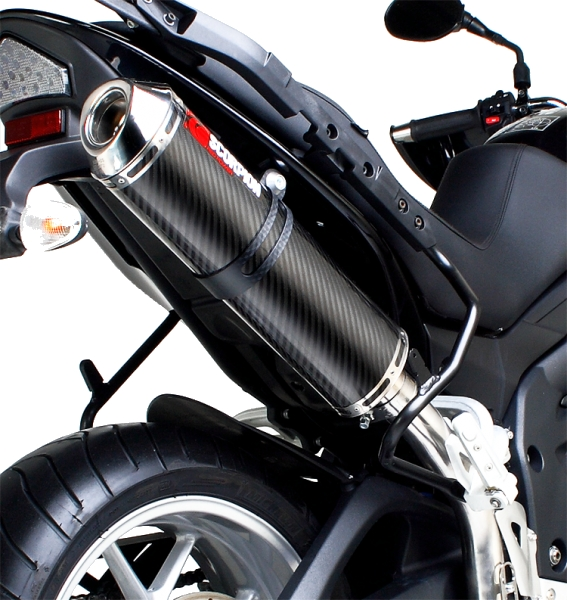 Scorpion Factory Exhaust - Triumph Tiger 1050