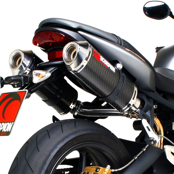 Triumph Street Triple Scorpion Factory Exhausts