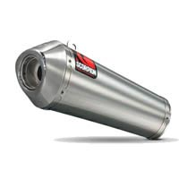 Scorpion Stainless Steel Power Cone Silencer / Exhaust End Can (with stainless outlet)