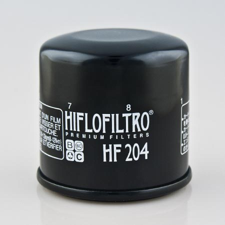 Honda CBF600 (2004 to 2012) Oil Filter - HF204-honda-cbf600