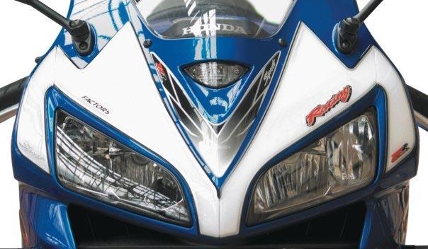 Motografix Front Number Board Honda Cbr600rr Nh006u Msa Direct