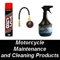 Motorcycle Maintenance and Cleaning Products