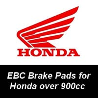 EBC Brake Pads for Honda Motorcycles over 900cc