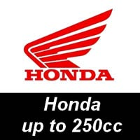 NGK Spark Plugs for Honda Motorcycles up to 250cc