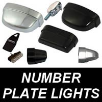 Motorcycle Number Plate Lights