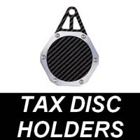 Motorcycle Tax Disc Holders
